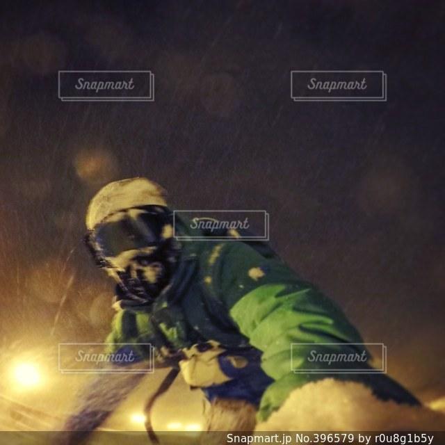 夜,スポーツ,スノボー,ナイター,gopro,スノーボード,ゴープロ,sports,snowboard,snowboarding