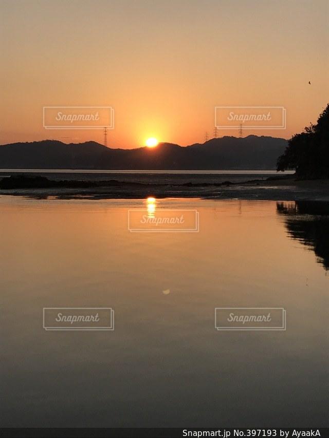 太陽,朝日,きれい,景色,日の出,初日の出