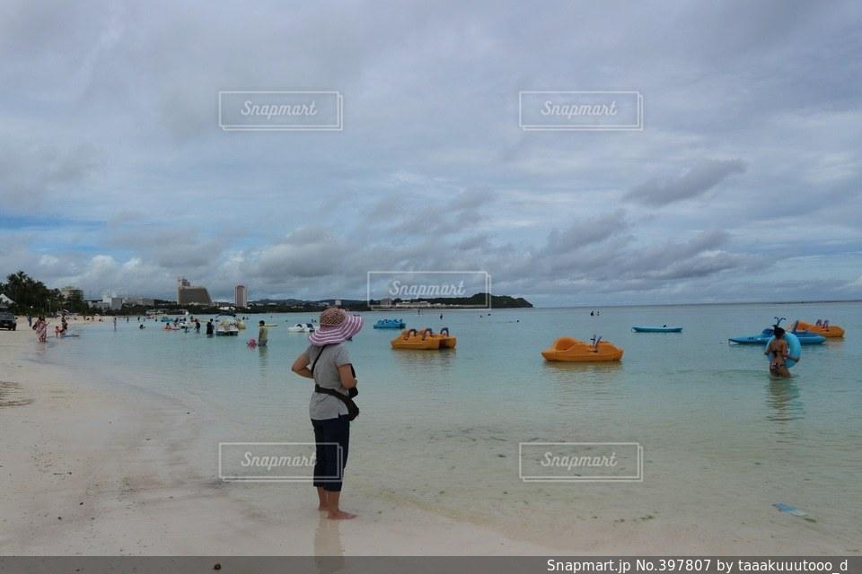 海,海外,ビーチ,グアム,リゾート,休日,海外旅行