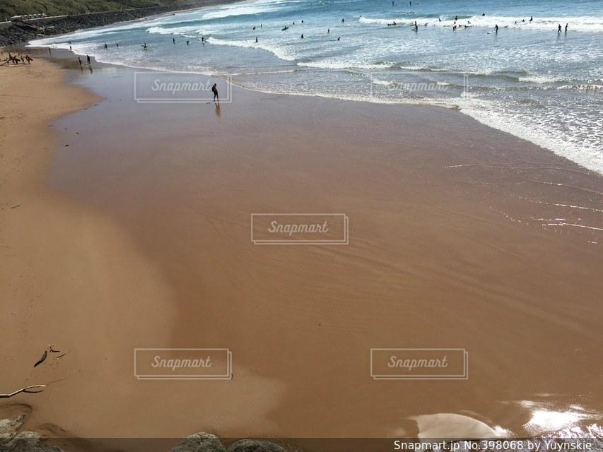 海,海外,砂浜,リゾート,フランス南西部