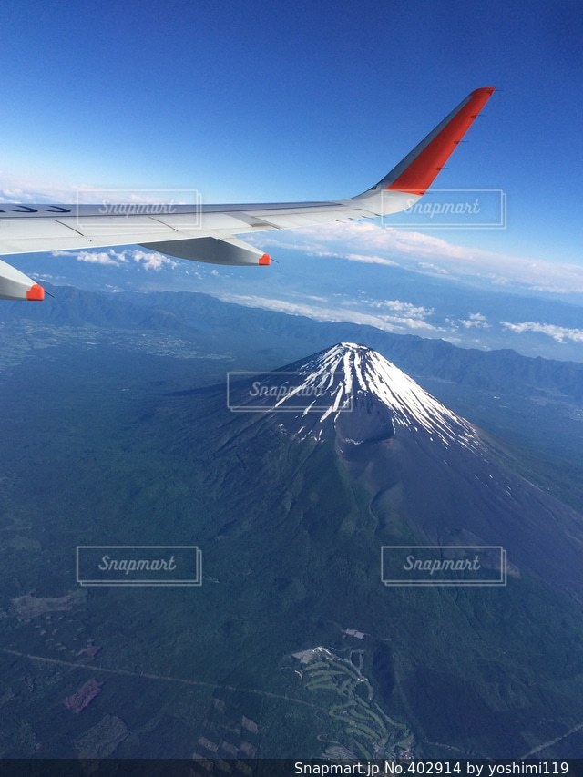 富士山,日本,空撮,jetstar,ジェットスター