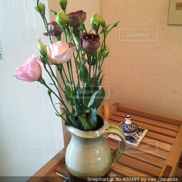 花,女子,テーブル,暮らし,一人暮らし