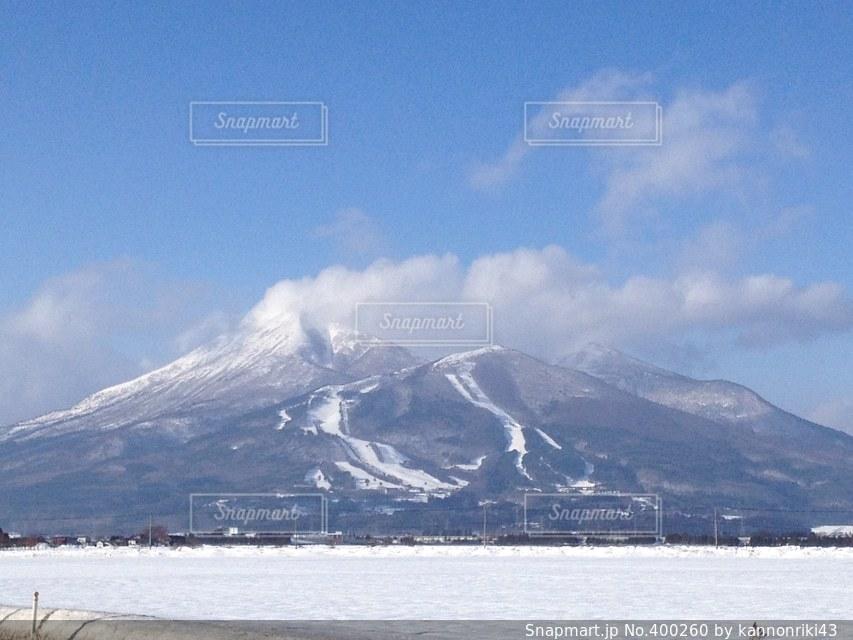 冬,雪,会津,福島,磐梯山