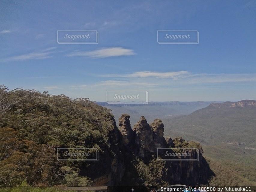 風景,空,オーストラリア,熱帯雨林,ブルーマウンテン