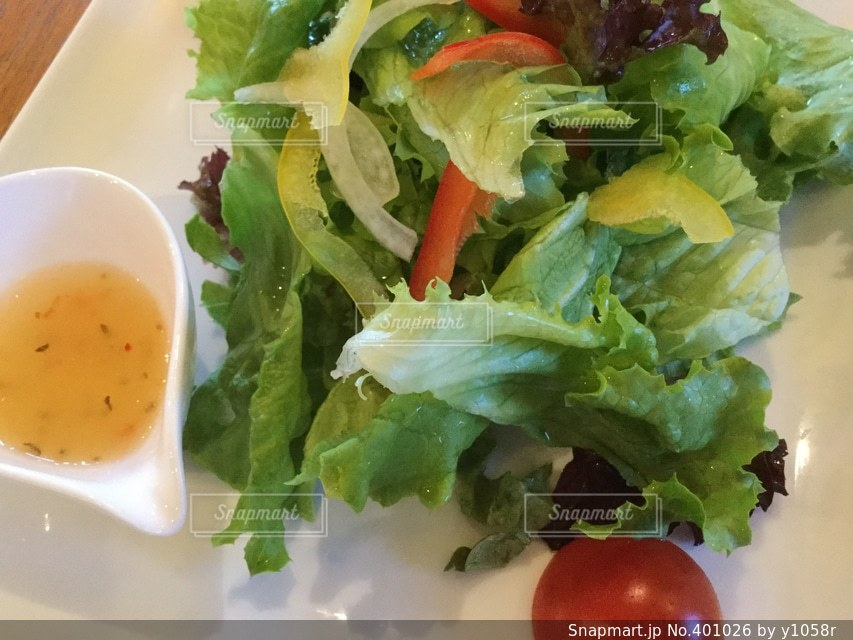 カフェ,緑,野菜,たべもの,サラダ,健康,おしゃれ