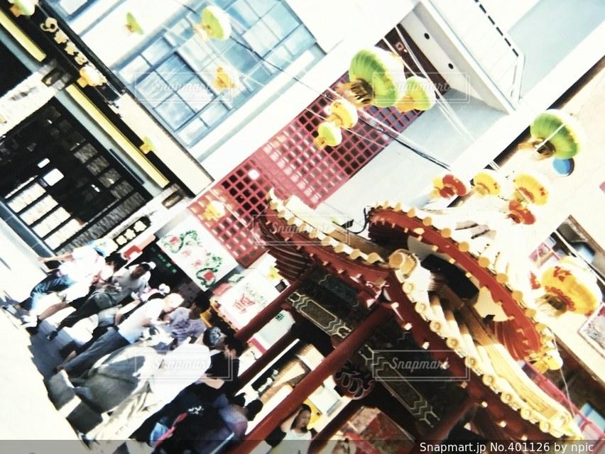 風景,神戸,フィルム,中華街,写ルンです