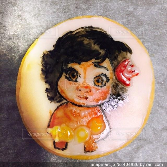 子供,お菓子,クッキー,手作り,アイシングクッキー,ディズニー,アイシング,モアナ,キャラクッキー
