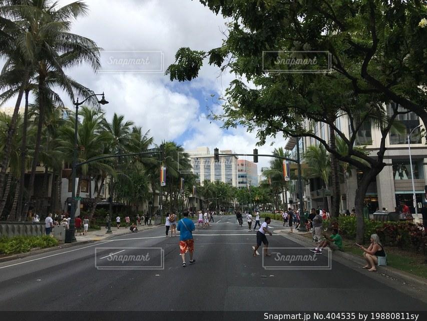 ハワイ,Hawaii,summer,カラカウア通り,カラカウアアベニュー,Kalakaua Avenue