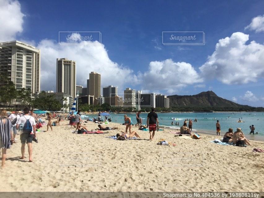 夏,ビーチ,ハワイ,Hawaii,beach,summer,diamondhead