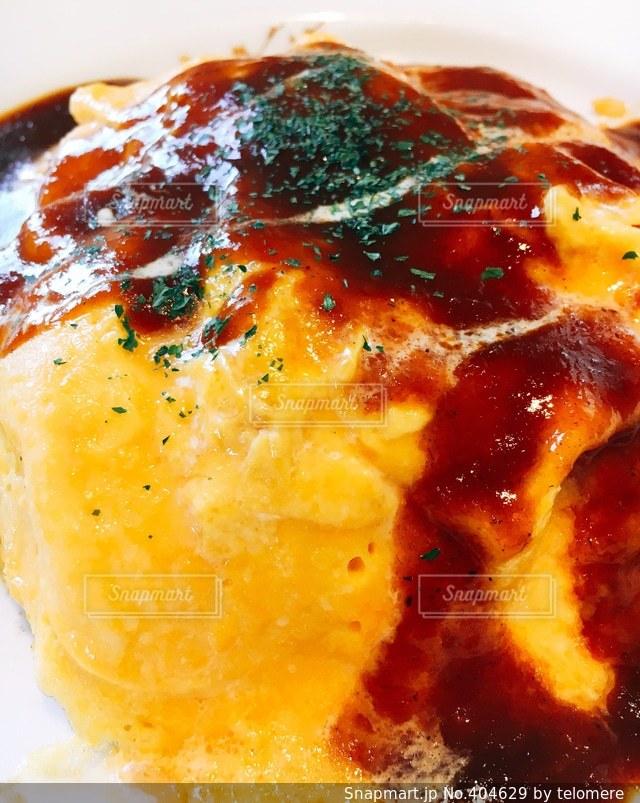 食べ物,卵,オムライス