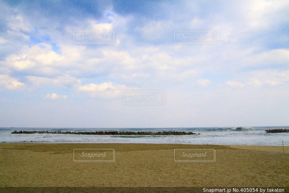 海,空,自転車,太陽,旅,朝,茨城,日本一周