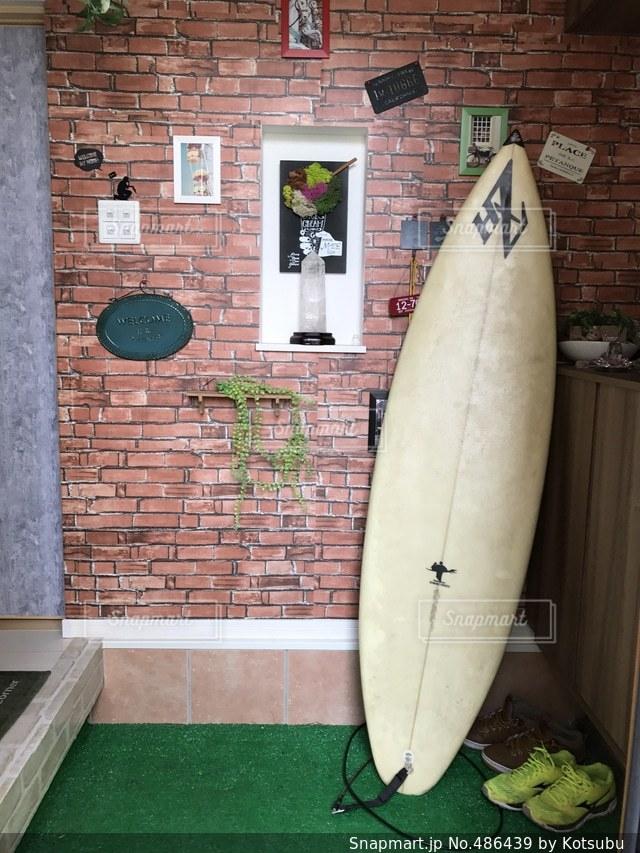 サーフィンの写真・画像素材[486439]