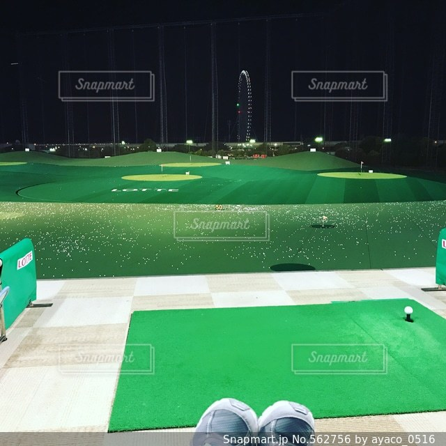 ゴルフの写真・画像素材[562756]