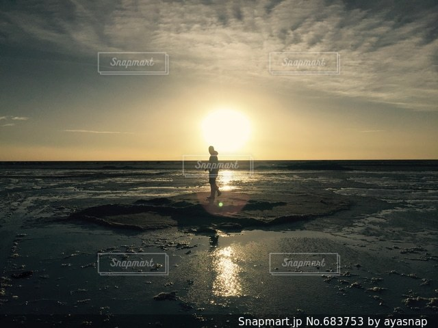 夕日の写真・画像素材[683753]