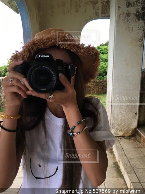 カメラの写真・画像素材[537569]