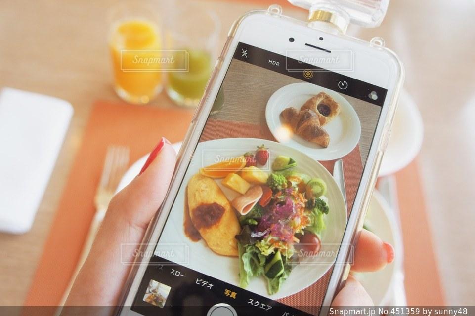 食事の写真・画像素材[451359]