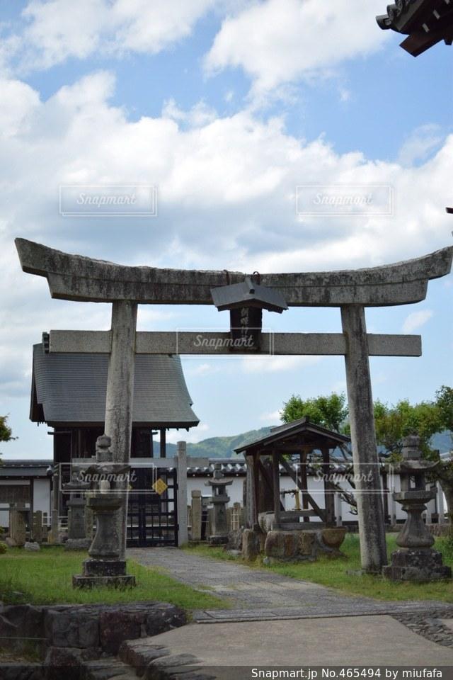 神社の写真・画像素材[465494]