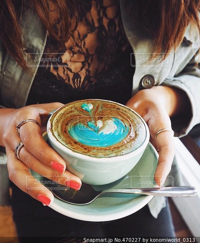 カフェの写真・画像素材[470227]