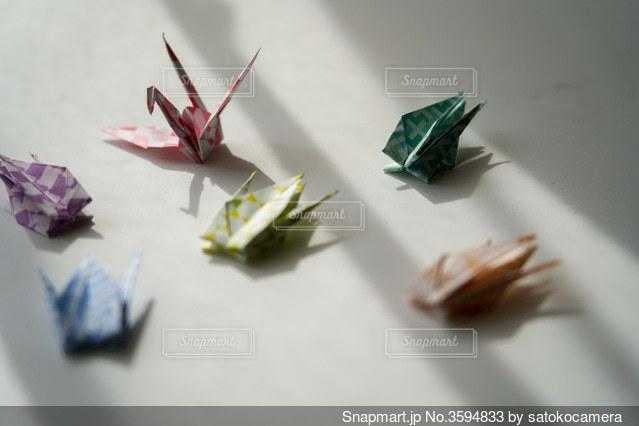 折り鶴の写真・画像素材[3594833]