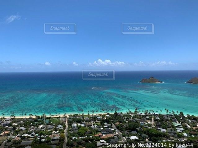 ラニカイビーチの写真・画像素材[2324014]