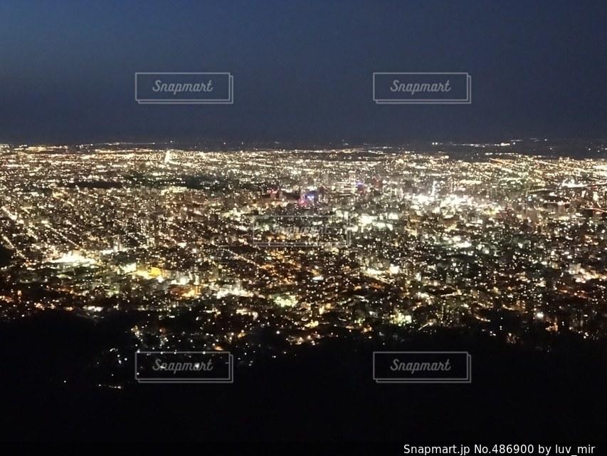 夜景の写真・画像素材[486900]