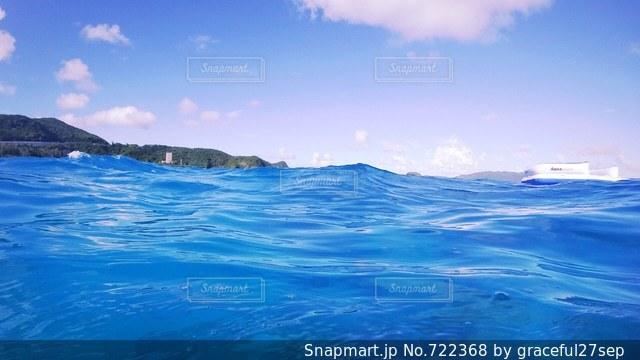 水の大きな体 - No.722368
