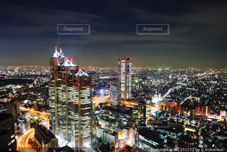 夜景の写真・画像素材[501272]