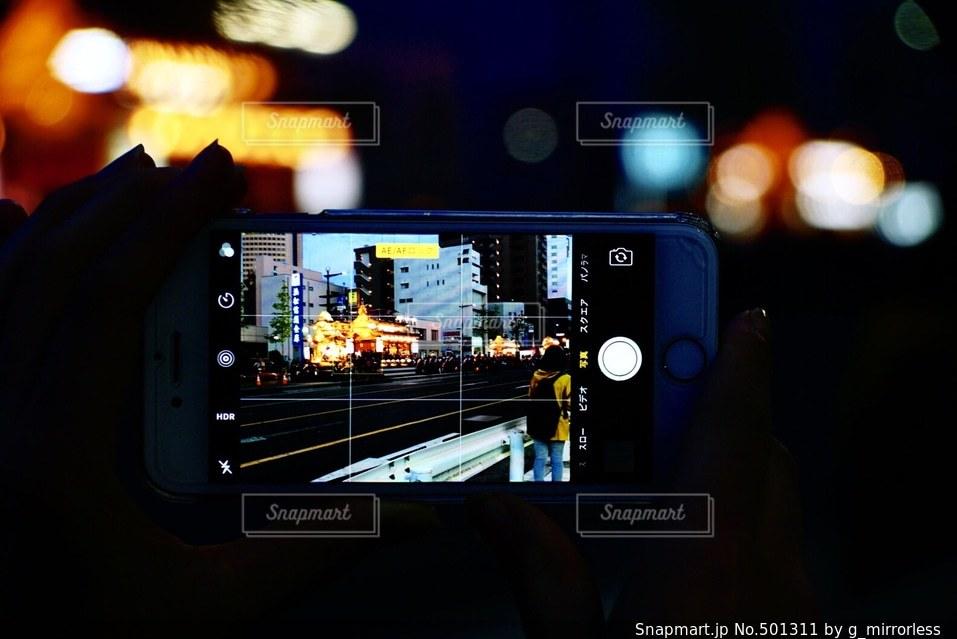 夜景の写真・画像素材[501311]