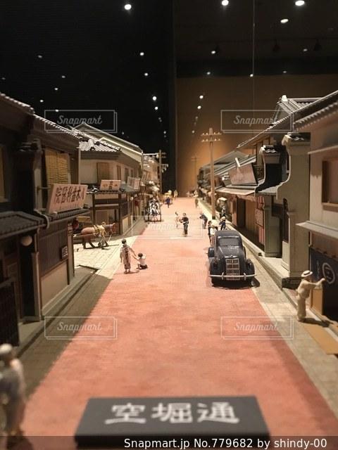 大阪の今昔館にての写真・画像素材[779682]