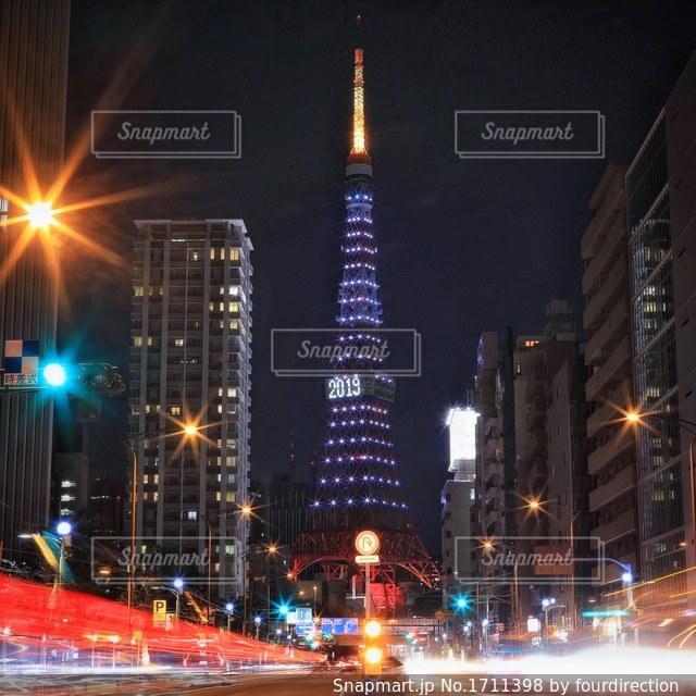 東京タワーの写真・画像素材[1711398]