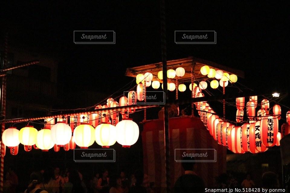 盆踊りの夜の写真・画像素材[518428]