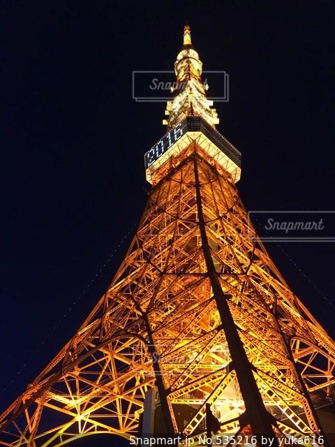 東京タワーの写真・画像素材[535216]