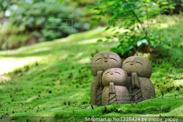 詩仙堂のかわいいお地蔵さんの写真・画像素材[1228424]-Snapmart ...