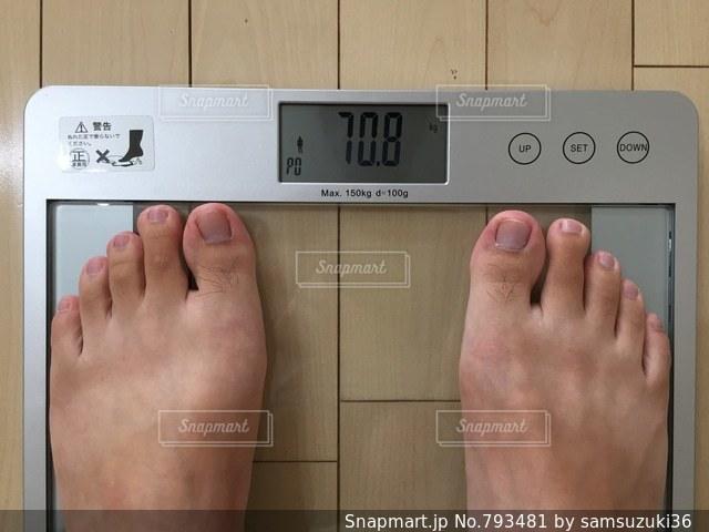 体重計の写真・画像素材[793481]