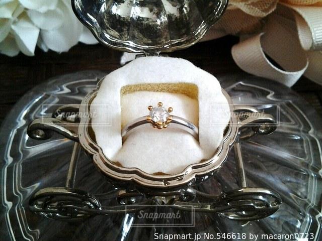 指輪の写真・画像素材[546618]