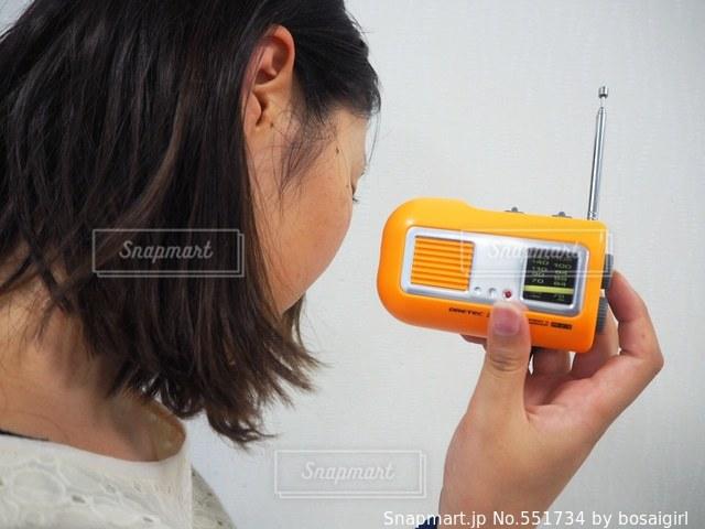 ラジオの写真・画像素材[551734]
