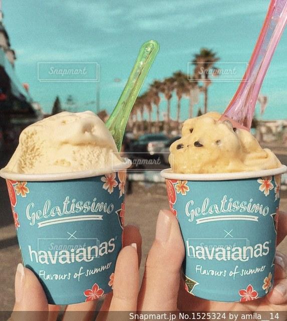 アイスクリームの写真・画像素材[1525324]