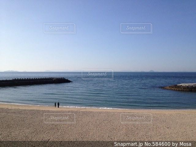 海の写真・画像素材[584600]