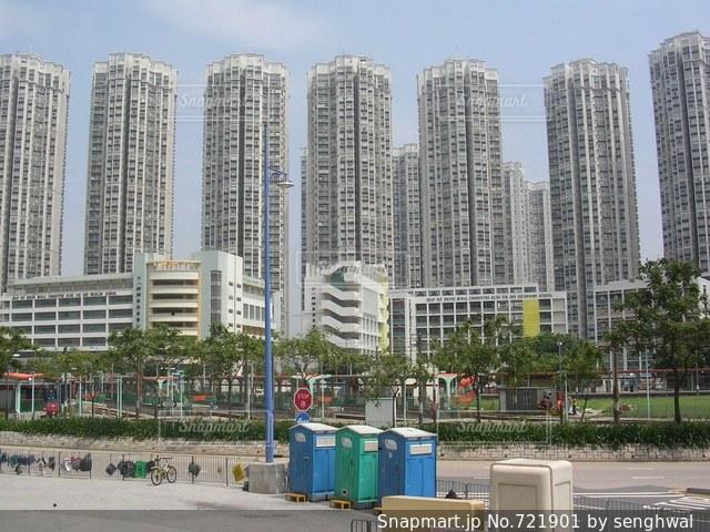 香港で2005年に撮影。の写真・画像素材[721901]