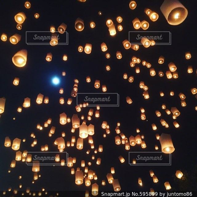 夜景の写真・画像素材[595899]