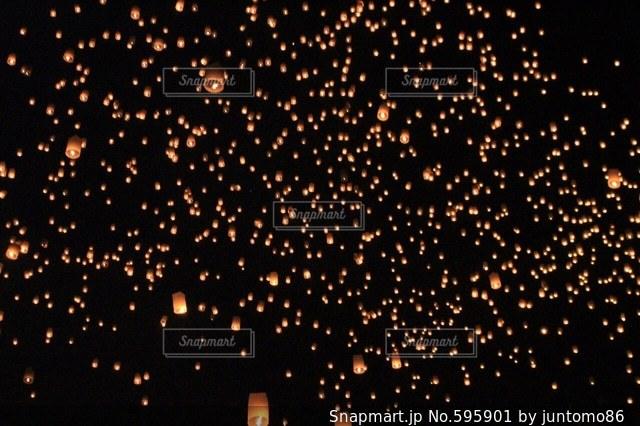 夜景の写真・画像素材[595901]
