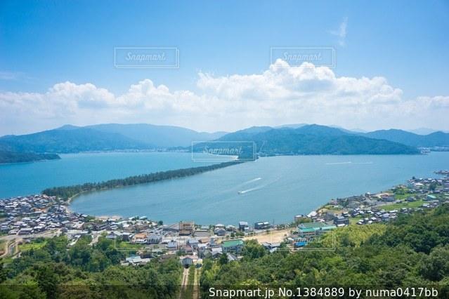日本三景の一つ天橋立の写真・画像素材[1384889]