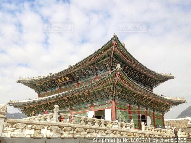 景福宮の写真・画像素材[1803781]