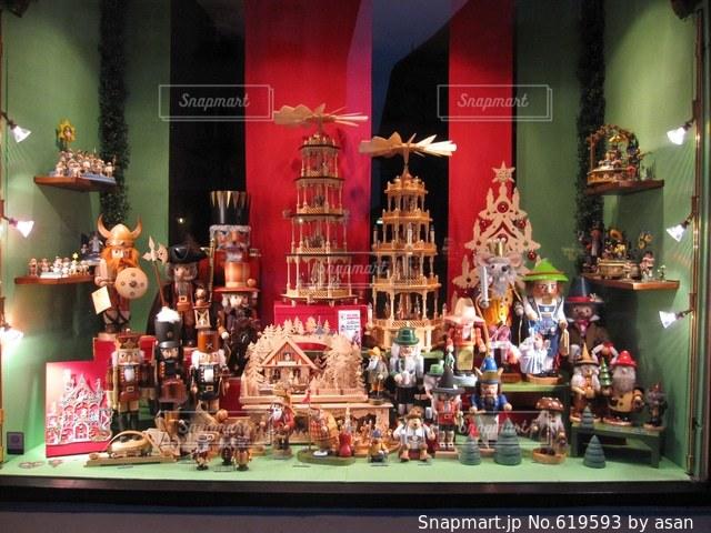 ドイツ おもちゃ屋さんの写真・画像素材[619593]