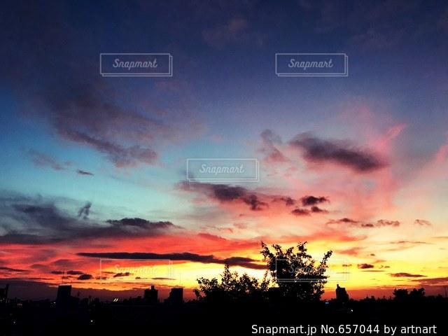 空の写真・画像素材[657044]