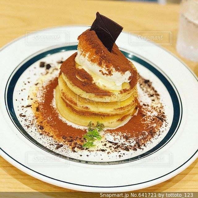 パンケーキの写真・画像素材[641721]