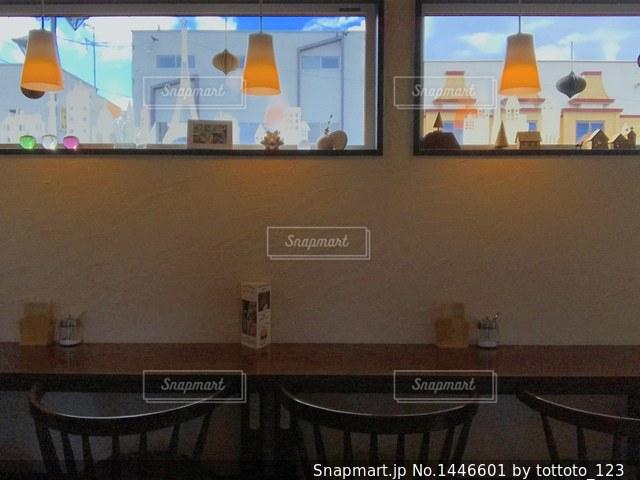 カフェの写真・画像素材[1446601]