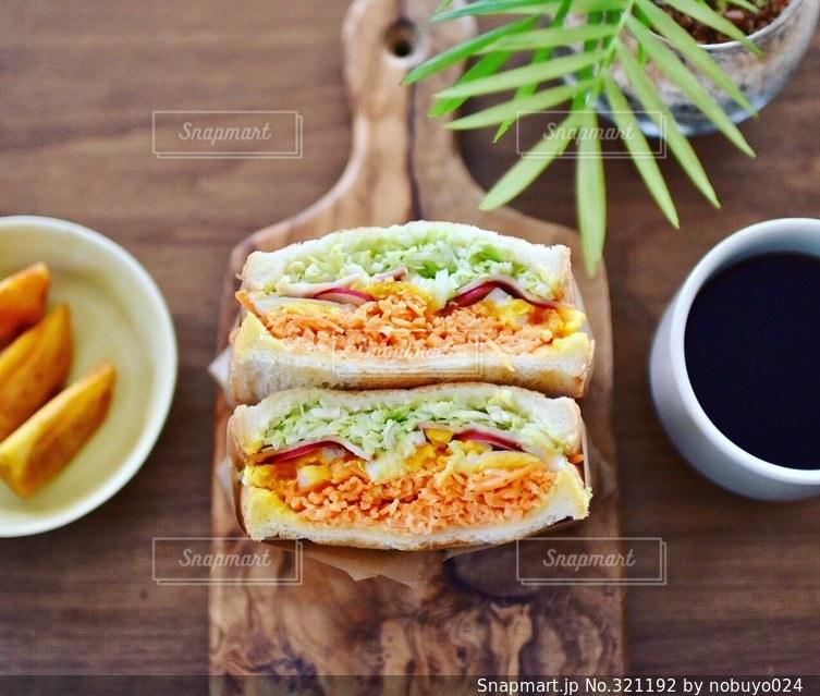 サンドイッチの写真・画像素材[321192]