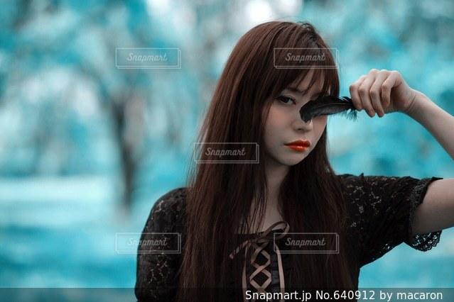 女性の写真・画像素材[640912]