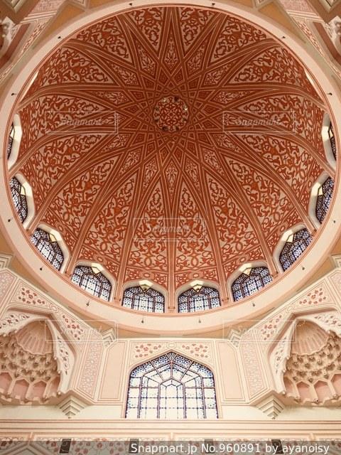 マレーシアのピンクモスクの写真・画像素材[960891]